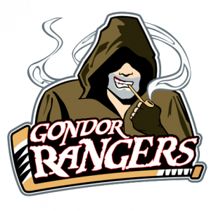 Gondor Rangers Hockey Team Created by Steve Thomas