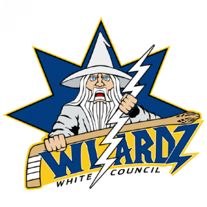 White Council Wizardz Hockey Team Created by Steve Thomas